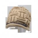 כובע צמר צמה
