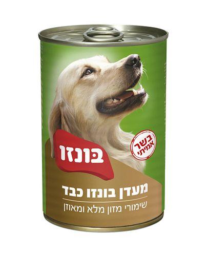 בונזו שימורים לכלב בטעם כבד