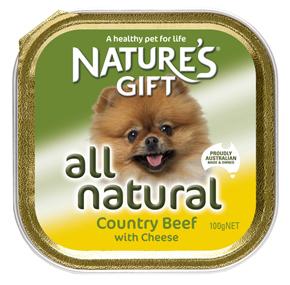 Natures Gift בשר בקר 100 גרם