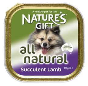 Natures Gift בשר כבש עסיסי 100 גרם