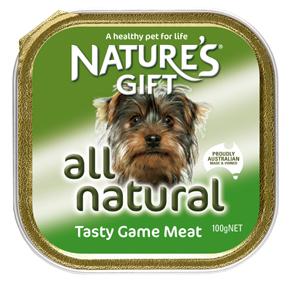 Natures Gift משחקי בשר 100 גרם