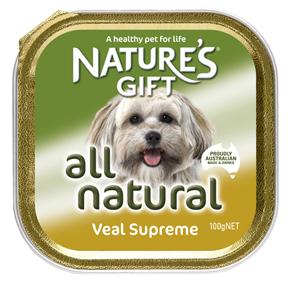 Natures Gift בשר עגל 100 גרם