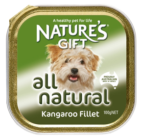 Natures Gift פילה קנגרו 100 גרם