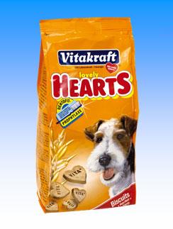 Vitakraft ביסקוויטים בצורת לבבות 300g
