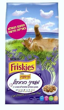 """פריסקיס - מעדני החתול - 1.42 ק""""ג"""
