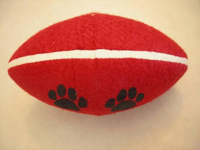כדור רוגבי לכלב בינוני - גדול