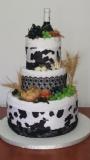 towel cake for shavuot - עוגת מגבת לשבועות