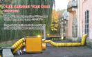 שרוול אויר חם תעשייתי עמיד חום 100C מעלות