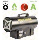 """תנור אוויר גז פד""""ח BGE LPG Gas Fan BGA1401-10"""