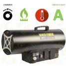 """תנור אוויר גז פד""""ח BGE LPG Gas Fan BGA1401-50"""