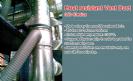 שרוול אוויר חם תעשייתי עמיד חום 350C מעלות