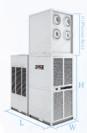 מזגן נייד תעשייתי DZ-GAC Air Conditioner