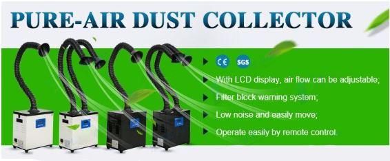 מערכת שאיבת אדים ועשן ניידת לעמדות ריתוך Asystem Da1002