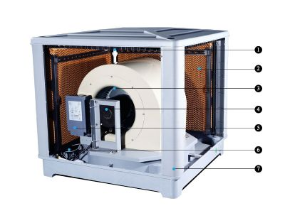 מצנן מים אוויר Munters XK-20UP 20000m³/h