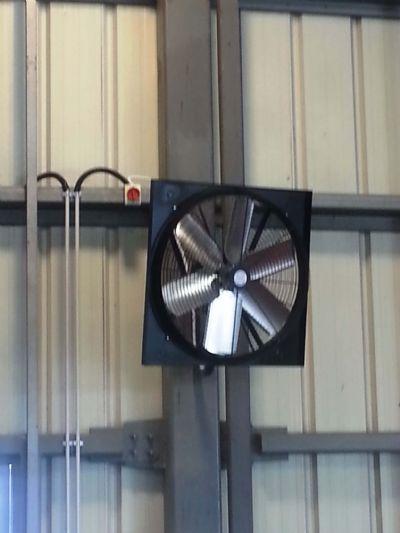 מאוורר ונטה שואב תעשייתי ANIA EX-25 - הדגמה