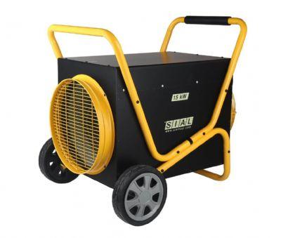 תנור אוויר חם חשמלי Sial Fan Heater D150FT