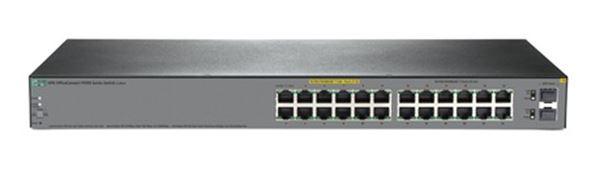 (+HPE 1920S 24G 2SFP PPoE+ 185W Switch (12x PoE