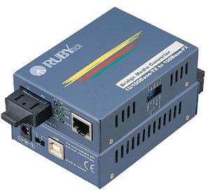ממיר אופטי FE-C130/130U USB Power 10/100Base