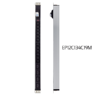 פס שקעים   12x C13 שקעי קומקום + 4xC19 לארון שרתים