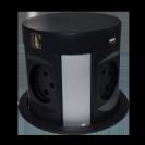 עמדת טעינה אלחוטית שולחנית שקועה הכוללת 4 חשמל+2 רשת+2 מטען USB MCS14-B