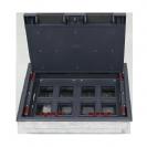 קופסת ריצפה יבשה 16 מודולים