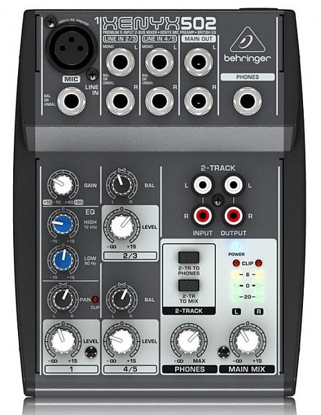 מיקסר Behringer Xenyx 502