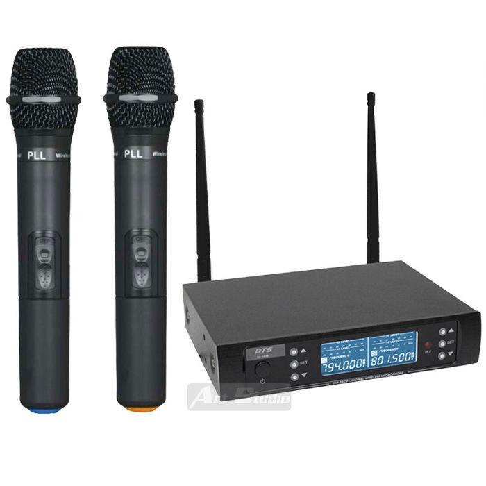 זוג מיקרופונים עם תדר משתנה BTS IU-1008