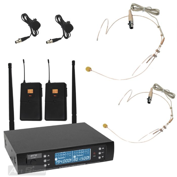 זוג מדונות עם תדר משתנה BTS IU-1008H Pro