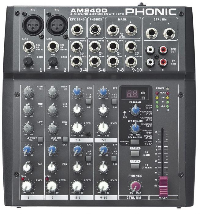 מיקסר Phonic AM240D