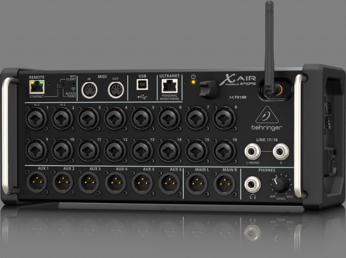 מיקסר דיגיטלי Behringer XR-18