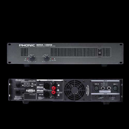 מגבר כוח Phonic MAX1000