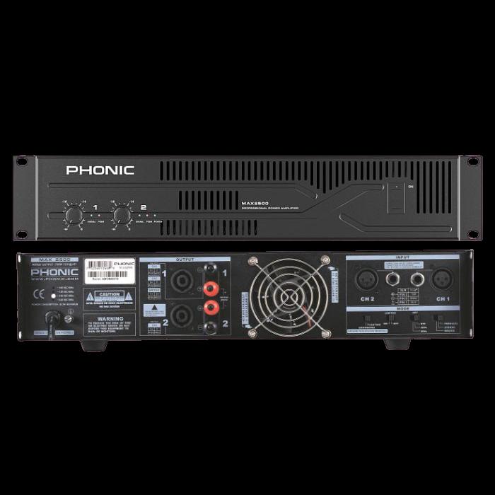 מגבר כוח Phonic MAX2500