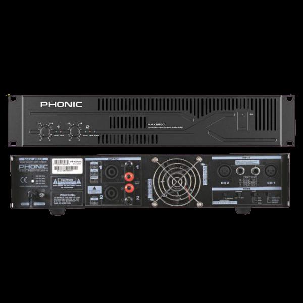 מגבר כוח Phonic MAX3500