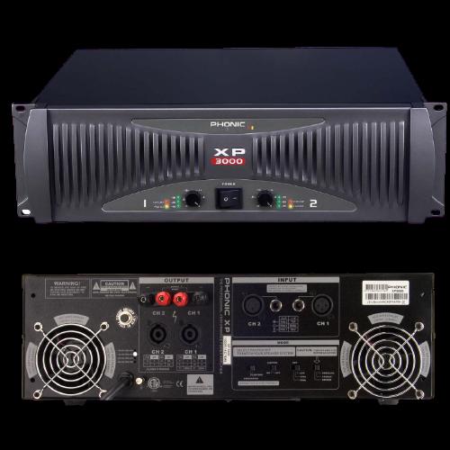 מגבר כוח Phonic XP3000