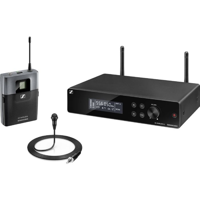 מערכת אלחוטית מיקרופון דש Sennheiser XSW 2-ME2