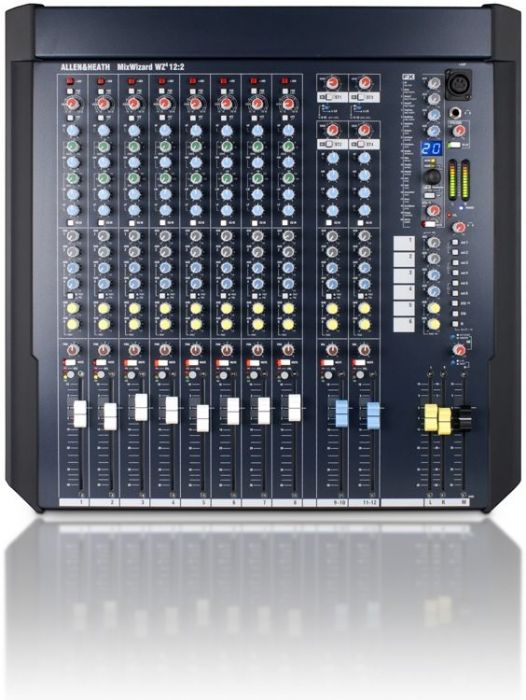 מיקסר הגברה Allen & Heath MixWizard4 WZ4 12:2:2