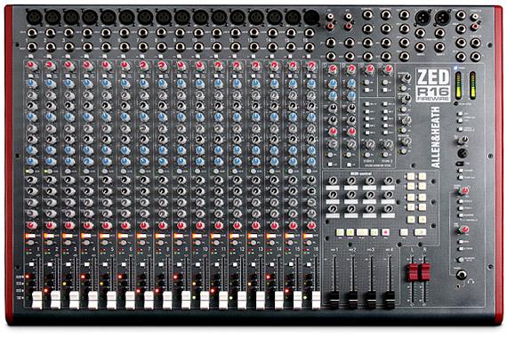 מיקסר להקלטות Allen & Heath ZED-R16