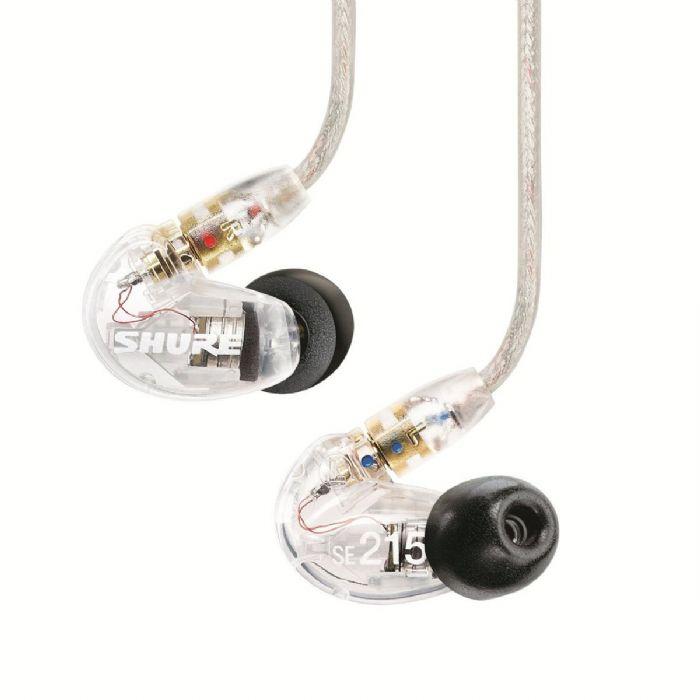 אוזניות In-Ear מקצועיות SHURE SE215
