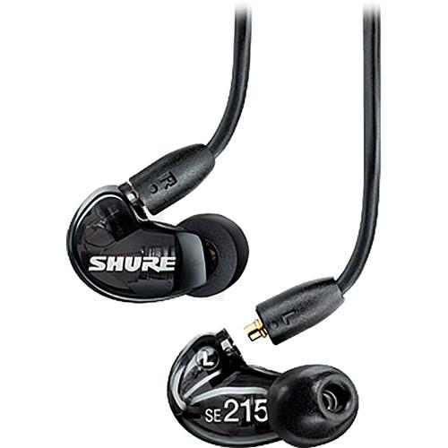 אוזניות In-Ear מקצועיות SHURE SE215 שחור
