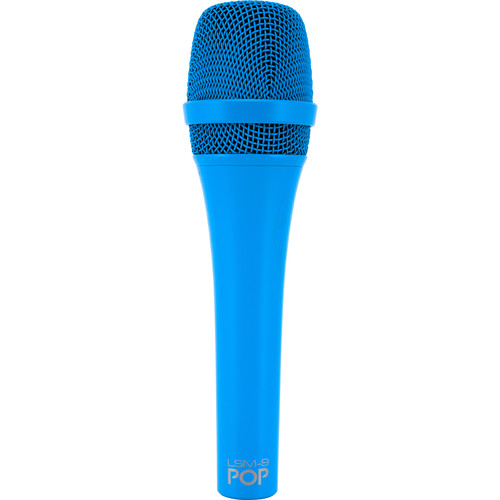MXL POP LSM-9 מיקרופון פרימיום דינמי לשירה בצבע כחול