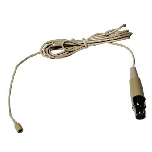מיקרופון לחי ICM בחיבור מיני XLR,צבע עור