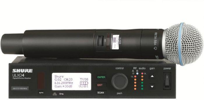 מיקרופון אלחוטי Shure ULXD24E/B58
