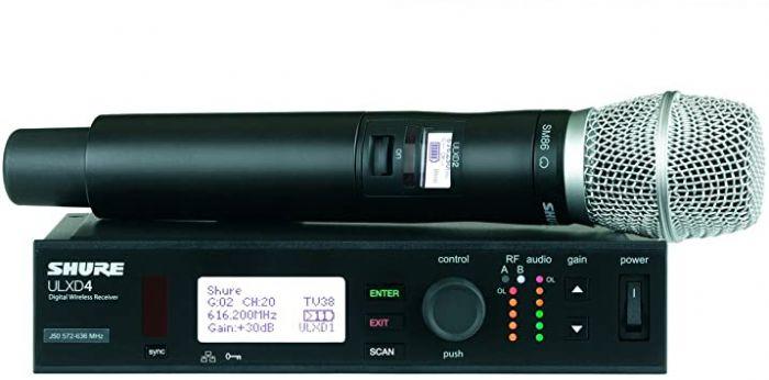 מיקרופון אלחוטי Shure ULXD24E/SM86