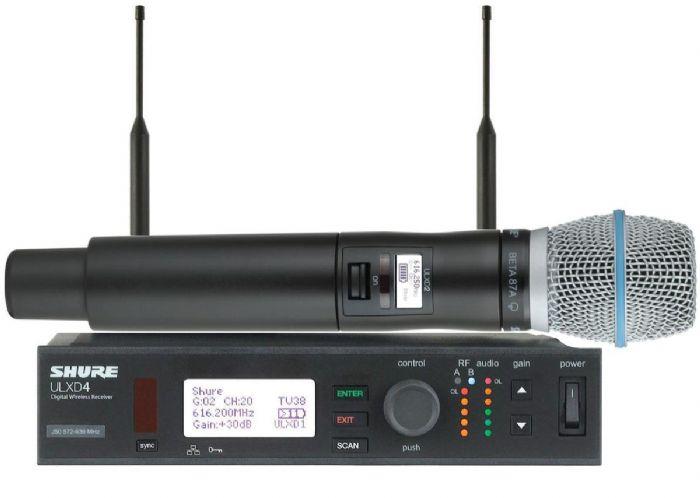 מיקרופון אלחוטי Shure ULXD24E/BETA87A/C