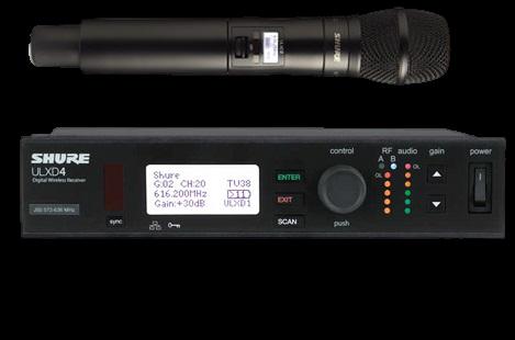 מיקרופון אלחוטי Shure ULXD24E/KSM9/HS