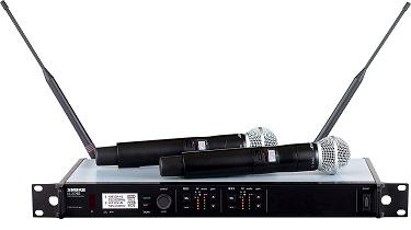 מערכת אלחוטית Shure ULXD24DE/BETA87A/C