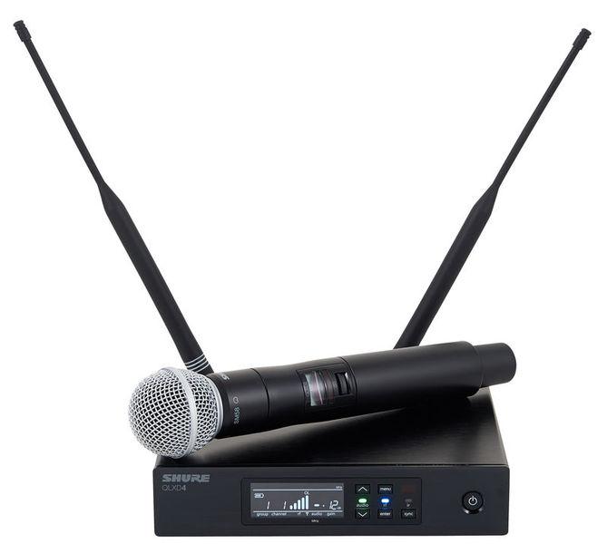 מיקרופון אלחוטי Shure QLXD24E/SM58