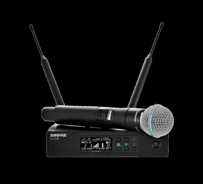מיקרופון אלחוטי Shure QLXD24E/BETA58