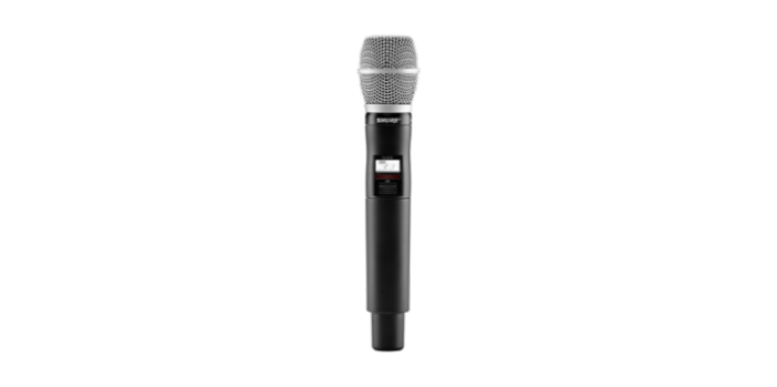 משדר אלחוטי מיקרופון ידני Shure QLXD2/SM86