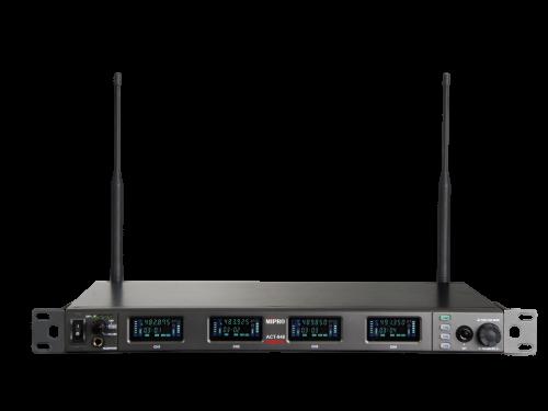 מקלט 4 ערוצים שידור דיגיטלי Mipro ACT-848